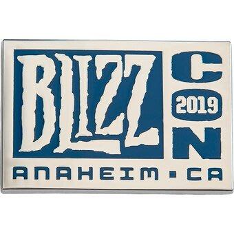 【丹】BZN_2019 BlizzCon Logo Pin 暴雪嘉年華 官方 LOGO 別針
