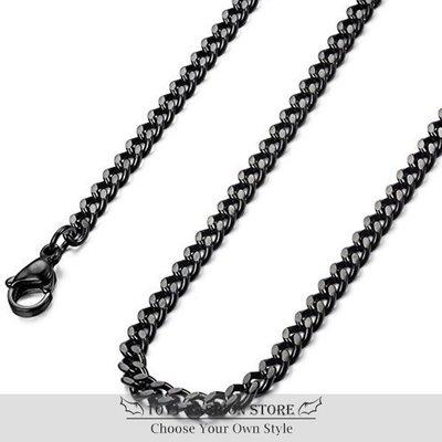 韓國 男性 女性 西德鋼 鈦鋼 不鏽鋼 項鏈 不鏽鋼項鏈 男性項鍊 配鍊 單鍊 BH-030204 三色可選