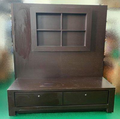 【宏品二手家具館】 A32802*胡桃TV櫃* 實木餐桌椅 全新中古傢俱買賣 2手家電器 古董 仿古 雕刻 藝品
