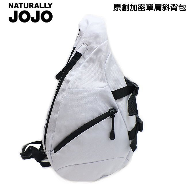 NATURALLY JOJO  原創加密單肩斜背包   (EESA033J80M )