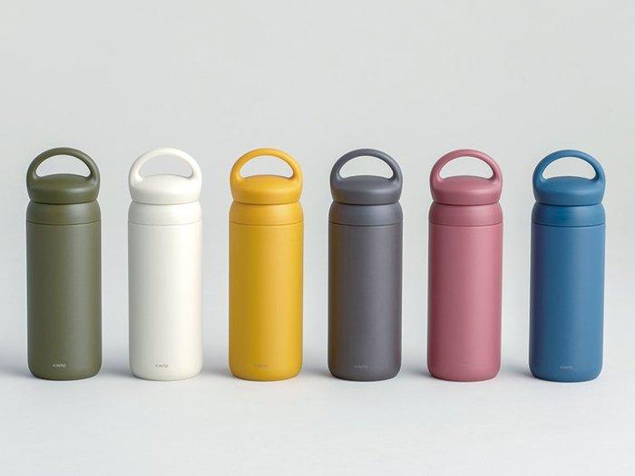 日本 KINTO 最新發售DAY OFF TUMBLER 不鏽鋼隨身保溫瓶 500ml