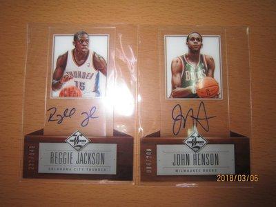 網拍讀賣~Reggie Jackson/ John Henson~各隊球星~壓克力限量簽名卡/299/349~卡面簽~