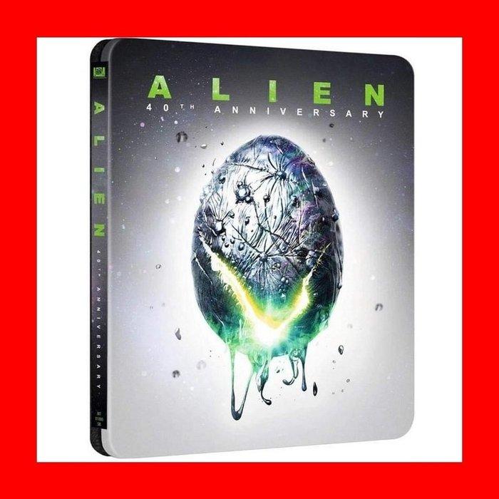 【4K UHD】異形40週年UHD+BD 雙碟限量鐵盒版(UHD中文字幕)Alien阿凡達 魔鬼剋星 雪歌妮薇佛