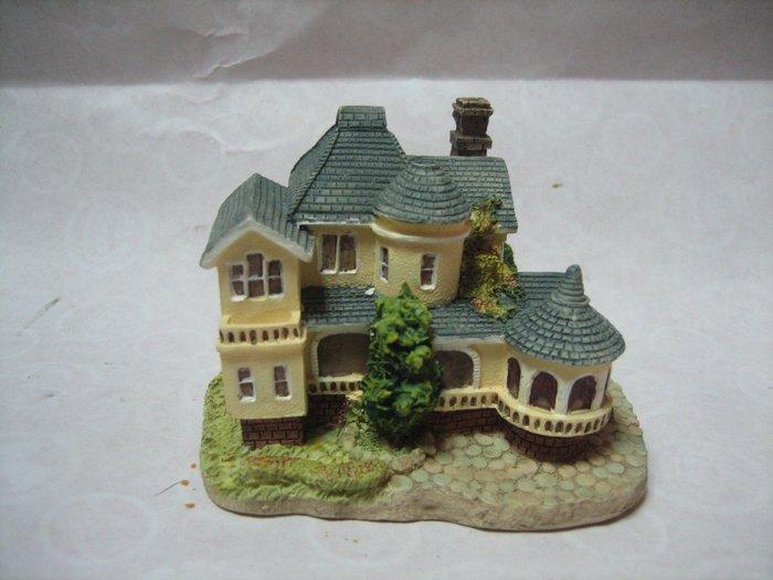 04-古堡-別墅-模型---