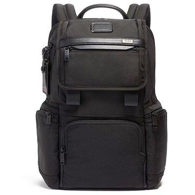 正品新款原廠 TUMI/途米 JK455 男女款 休閒商務電腦後背包  時尚雙肩背包 健身運動旅行背包 彈導尼龍配真皮