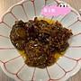 apple小舖澎湖名產天人菊(黃金鮑)當小菜配麵