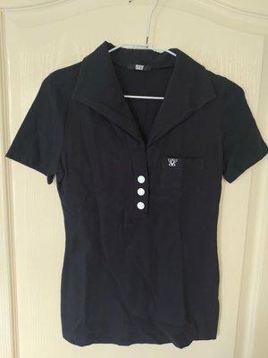 [99go] 全新 日本專櫃 SLY 灰色短袖棉質上衣 m 號 日本製