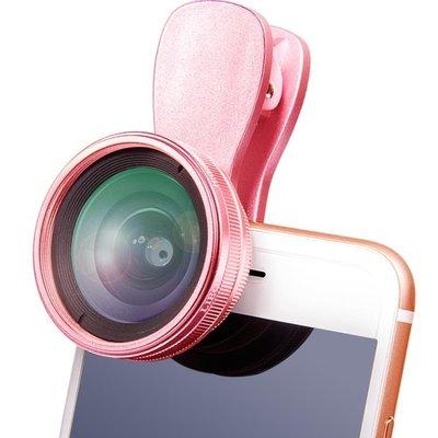 廣角鏡頭 通用高清抖音神器美顏直播補光燈廣角手機鏡頭微距單反拍照相攝像
