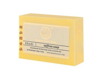岡山戀香水~印度 Khadi 草本番紅花手工精油香皂125g~優惠價:65元