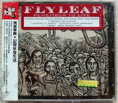 ◎2011全新進口版CD未拆!飛葉樂團-記得享受生活-Flyleaf-Remember To Live-等好歌搖滾女主唱