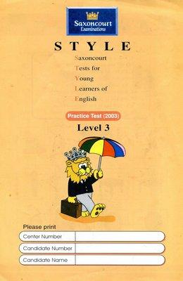 師德英文檢定 STYLE 《3》Saxoncourt Examinations Practice Test (附CD)