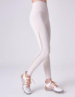 TuTu瑜珈精品╭☆韓國 Front 2 line【F2L - FPK061 裸感中高腰九分褲 - 膚色】瑜珈韻律服