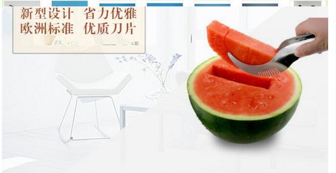 新款不銹鋼多功能水果分割器西瓜切
