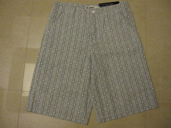 BSX 格子紋休閒短褲