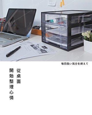 【多件優惠】可疊式桌上三層櫃 抽屜收納櫃 置物櫃 資料櫃 文件櫃 文具櫃 整理箱 收納箱 收納 抽屜櫃 BA02049