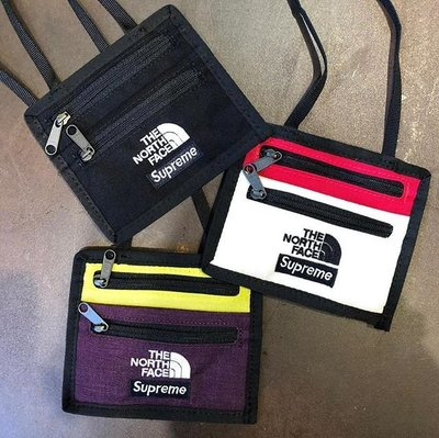 ☆LimeLight☆ Supreme x The North Face Travel Wallet 證件夾