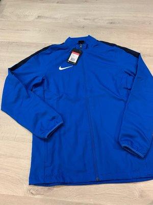 Nike 耐吉 藍色運動外套 (慢跑 訓練 網球 籃球)