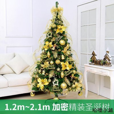 聖誕樹 聖誕裝飾 1.8米圣誕樹套餐1.2 1.5 2.1米豪華加密客廳家用圣誕節裝飾品全館免運價格下殺