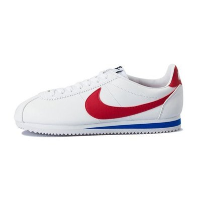 【Admonish】NIKE CLASSIC CORTEZ LEATHER 白紅藍 皮革 慢跑鞋 男女
