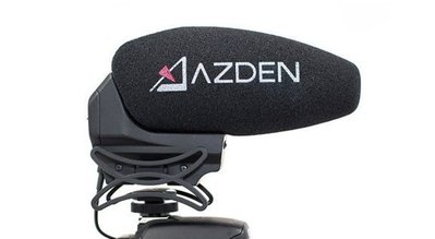 Azden SMX-30 專業電容式機頂麥克風 可切換立體/單聲道 單眼 公司貨
