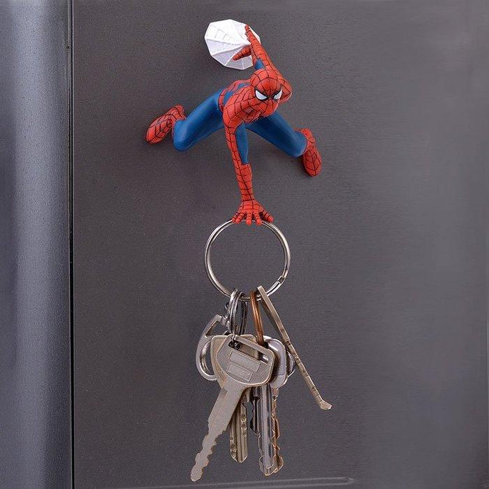 日本 迪士尼 直購 漫威 系列 蜘蛛人 造型 鑰匙 吸鐵 磁鐵 MARVEL