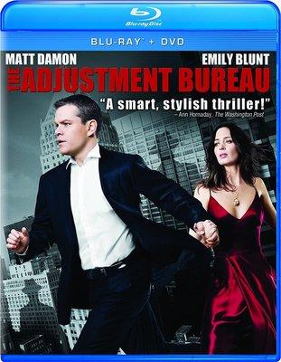 BD 全新美版【命運規劃局】【The Adjustment Bureau】Blu-ray 藍光 麥特戴蒙