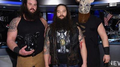 [美國瘋潮]正版 WWE Wyatt Family Down with Machine Tee殺戮機器家族款衣服M號特價