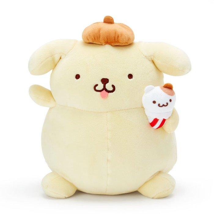 絨毛娃娃 三麗鷗 布丁狗 黃色 冰淇淋 日本正版進口授權