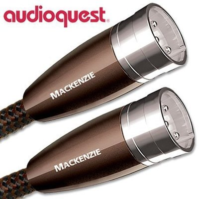 【富豪音響】美國線聖 Audioquest MacKenzie 麥肯基 XLR 平衡類比訊號線 3.0M