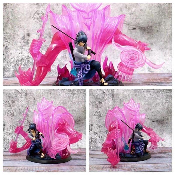 火影忍者GK宇智波 須佐能乎佐助 戰鬥 場景 盒裝手辦 產品高度:約30cm