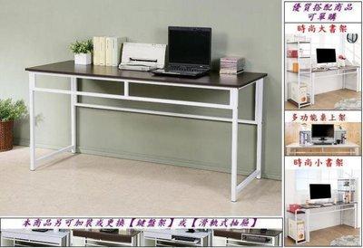 (佳舫小舖)【DE1660】(4)加寬(160CM)平面式電腦桌、工作桌、書桌~25mm方形粗鐵管腳,桌子 台中市