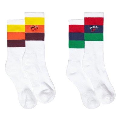 全新商品 Noah Nyc Big Stripe Sock 潮流 嘻哈 滑板 中筒襪 長襪 襪子