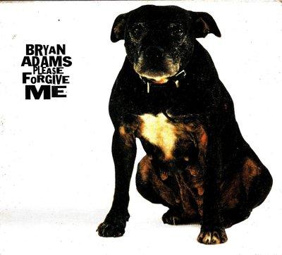布萊恩亞當斯Bryan Adams / Please Forgive Me(單曲.封底泛黃油漬.無歌詞)