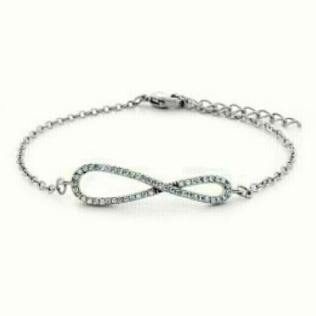 手工純銀永恆愛戀鑲鑽手鍊 Kapal-Laut  Zircon Silver Bracelet