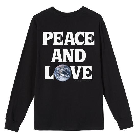 【莎莉伊森】代購 Stussy Peace & Love Long Sleeve T-Shirt 長T