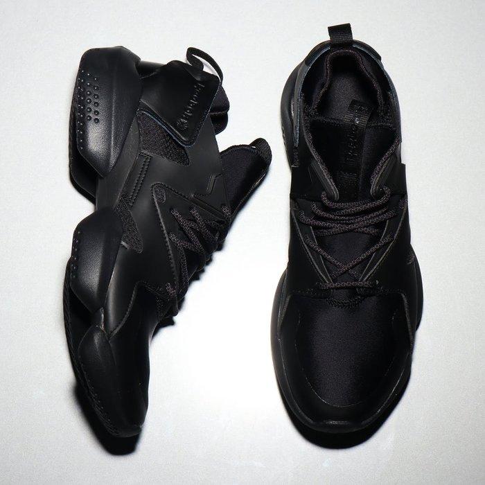 南◇2018 9月 REEBOK 3D OP. LITE CN3810 復古 全黑色 武士  忍者 韓系 男女鞋