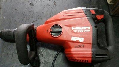 喜得釘 TE700 AVR TE800 無刷式  破碎機 電動錘 (中古外匯機)