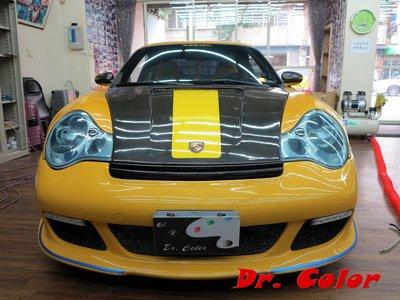 Dr. Color 玩色專業汽車包膜 Porsche 996 turbo 車燈保護膜 台中市