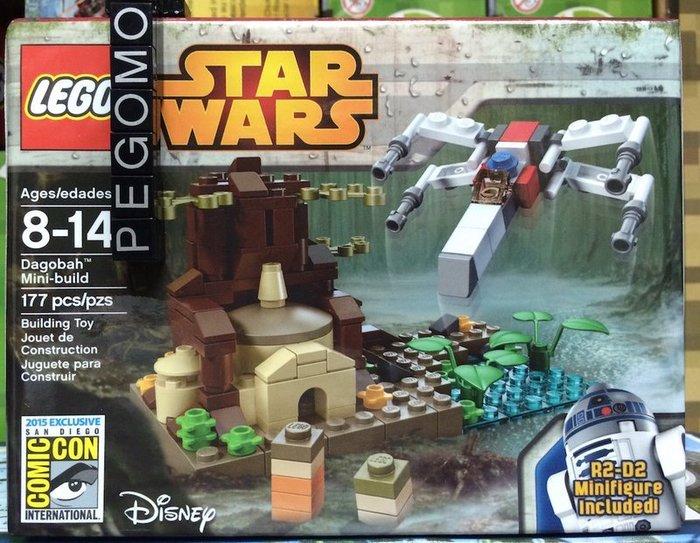 【痞哥毛】LEGO 樂高 星戰 達戈巴迷你場景 Star Wars comcon044 SDCC 2015