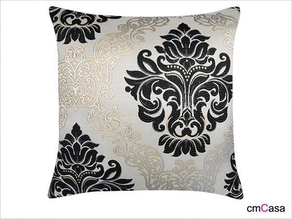 = cmCasa = [3450]歐式經典高貴設計  金絲英倫緹花抱枕套 樣品屋擺飾多尺寸指定款