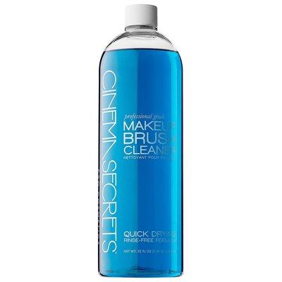 【愛來客 】美國CINEMA SECRETS 好萊塢的秘密 專業化妝清刷具清洗液/假睫毛洗潔液 32OZ