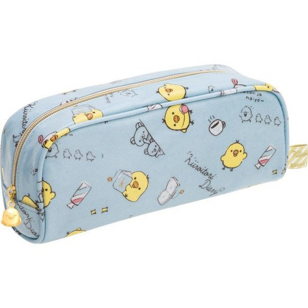 小雞筆袋--日本SAN-X拉拉熊/懶懶熊小雞筆袋/鉛筆盒--秘密花園