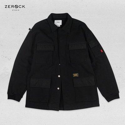 《ZEROCK》WTAPS 17AW FP002SF / SHIRT. COTTON 棉質軍裝 四口袋 襯外套 M號