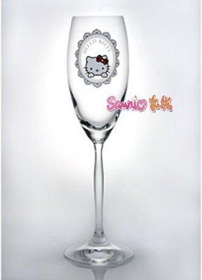 《東京家族》Hello Kitty 原装正版施華洛水鑽世奇高脚红酒杯