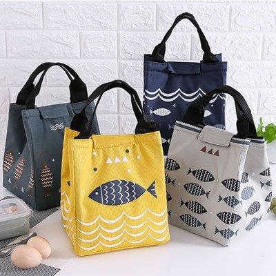 蒐藏家~G18041301~ 可愛卡通牛津布加厚錫箔保溫袋 飯盒袋 便當包 手提包 便當袋 手提袋