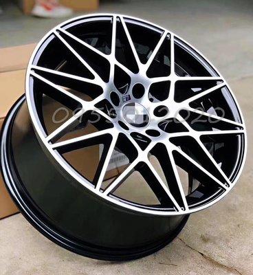 全新BMW M4 GTS式樣5孔120 19吋鋁圈E90/E92/F10/F20/F22/F30/F32/F36/335
