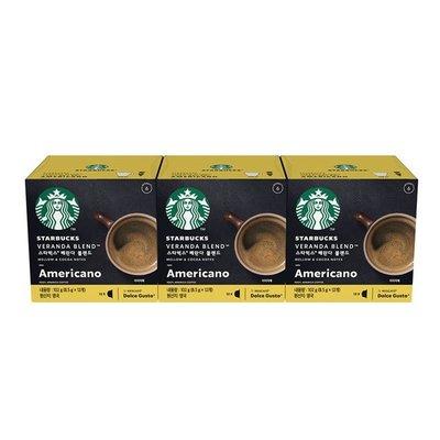雀巢 星巴克閑庭美式咖啡膠囊 (3盒/36顆) 12398716 輕柔優雅、充滿香氣與層次的閑庭美式咖啡