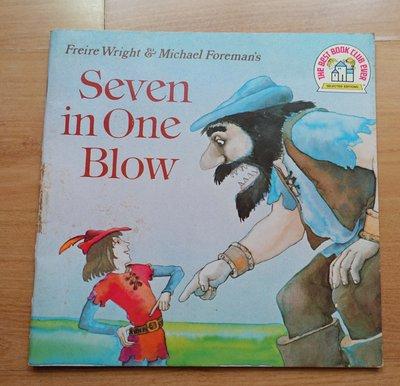 【英文童書】-- Seven in One Blow  --***愛麗絲夢遊***--英11