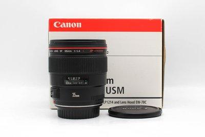 【高雄青蘋果3C】CANON EF 35mm f1.4 L USM UA鏡 公司貨 定焦鏡 #45716