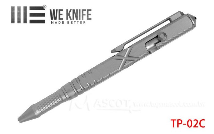 【angel 精品館 】We Knife TI MATERIAL PEN PLANI COLOR 鈦 戰術筆 02C